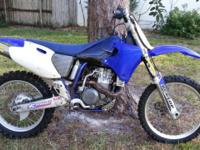 The notorious Yamaha YZ426F 4 stroke dirt bike. This is
