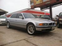 2001BMW 7 SERIES V8 SEDAN AUTOMATIC TRANSMISSION WITH