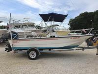 This 2002 17' Boston Whaler Montauk Center Console is