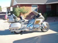 2002 1800cc Honda Goldwing. 83277 miles. Never down,