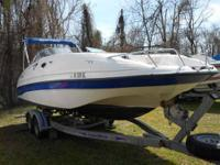 Type of Boat: Deck Boat Year: 2002 Make: Ebbtide Model: