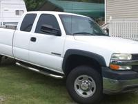 2002 2500HD one ton chevy truck, extended cab - 6.0
