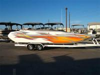 Great Looking Boat! Cat Hull, 470 HP Mercury Racing 500