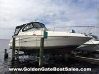 2002, 28' SEA RAY 280 SUNDANCER Single Gas 380HP