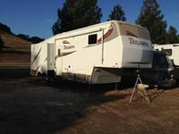 Stock Number: 723849. Very clean 34' 5th wheel trailer,