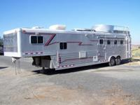 2002 4Star Aluminum Equine Trailer $60,000 Or Best