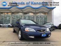Recent Arrival! 2002 Acura CL Type S FWD 5-Speed