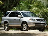 2002 Acura MDX 3.5L  Options:  4.428 Axle Ratio| 17 X