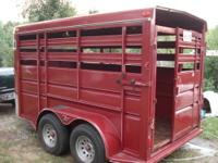 This trailer is a stock style, been stored in garage