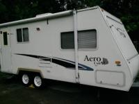 Hybrid trailer. I bought the trailer from an rv dealer