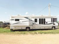 2002 36 FT ALLEGRO BAY MOTOR HOME: price reduced on top