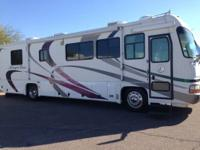 2002 Allegro Bus 35ft diesel 2 slides, 330 HP CAT on