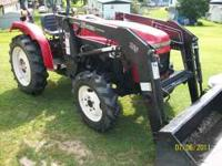 nice tractor 24.5 hp 3 cylinder diesle has 3 point