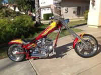 2002 AMERICAN IRON HORSE TEXAS CHOPPER. Very low miles