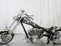 This is a custom bike in great shape with a beautiful