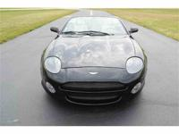 This is a Aston Martin DB7 Vantage convertible finished