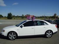 Options Included: N/AGREAT ALL WHEEL DRIVE ( QUATTRO)