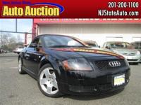 This 2002 Audi TT 2dr quattro AWD Convertible showcases