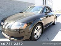 Mercedes-Benz of Augusta presents this 2002 AUDI TT 2DR