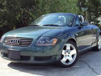 Beautiful 2002 Audi Quattro TT Roadster Convertible.