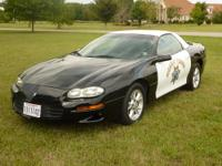 2002 California Highway Patrol B4C EVOC Camaro Unit #