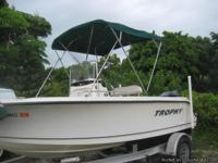 A classic 17 foot versatile fish hunter. Is a splendid