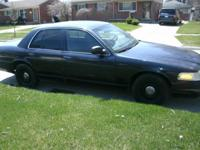 2002 Black Crown Vic   V8 Automatic Trans 124,000