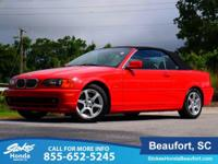 2002 BMW 3 Series in Red. Local owner, Garage kept!!