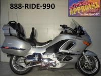 2002 BMW K1200 CT for sale! Coaded, navagation,