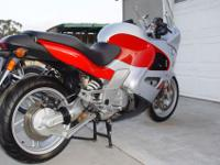 This BMW K1200 RS is in good used condition. It only