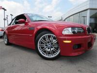 Incredibly uncommon 2002 BMW M3 Convertible !!