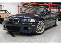 This 2002 BMW M3 2dr Convertible features a 3.2L V6 PFI