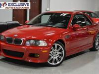 2002 BMW ///M3 *** CARFAX CERTIFIED! REMOVABLE HARDTOP
