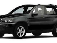 This 2002 BMW X5 3.0i has an exterior color of GRAY.