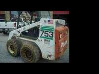 2002 Bobcat 753 with kobota motor, hi output pump,