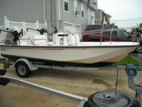 2002 17' Boston Whaler Montauk Edition, With 75 HP