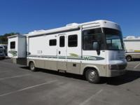 2002 Brave by Winnebago design 34D This RV is 34' long