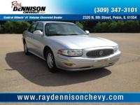 Silver 2002 Buick LeSabre Custom FWD 4-Speed Automatic