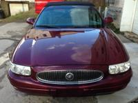 2002 Buick Lesabre. great problem. Red pearl with black