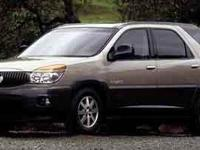AWD. Recent Arrival! 2002 Buick Rendezvous 4-Speed