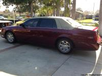 2002 CADILLAC DEVILLE EQUIPPED WITH LEATHER, POWER