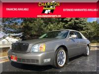 Options:  2002 Cadillac Deville 4Dr Sdn|Champion