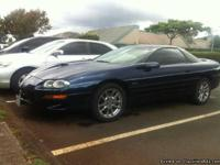 Hi I am selling my 02 camaro ss. It is an SLP 35th