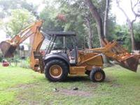 2002 Case 580m 4x4 diesel Backhoe with 4 in