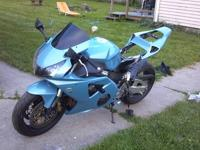 2002 honda cbr 954rr custom. Has new paint with 250.00
