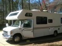 2002 Ford F 450 Chateau sleeps 8 ,low miles,in very
