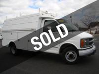 SIMPLY IN THIS 2002 CHEVROLET 3500 ENCLOSED STAHL