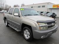 Options:  2002 Chevrolet Avalanche 2Wd 1500