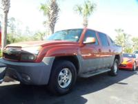 Crew Cab! Gasoline! This 2002 Avalanche 1500 is for
