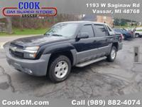 2002 Chevrolet Avalanche 1500 4WD Onyx Black Int.